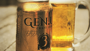 New Beer. New You! A GEN!US New Way to Keep Fit and Drink Smart