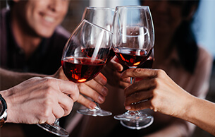 Could drinking with dinner every night impact your employees� mental health?