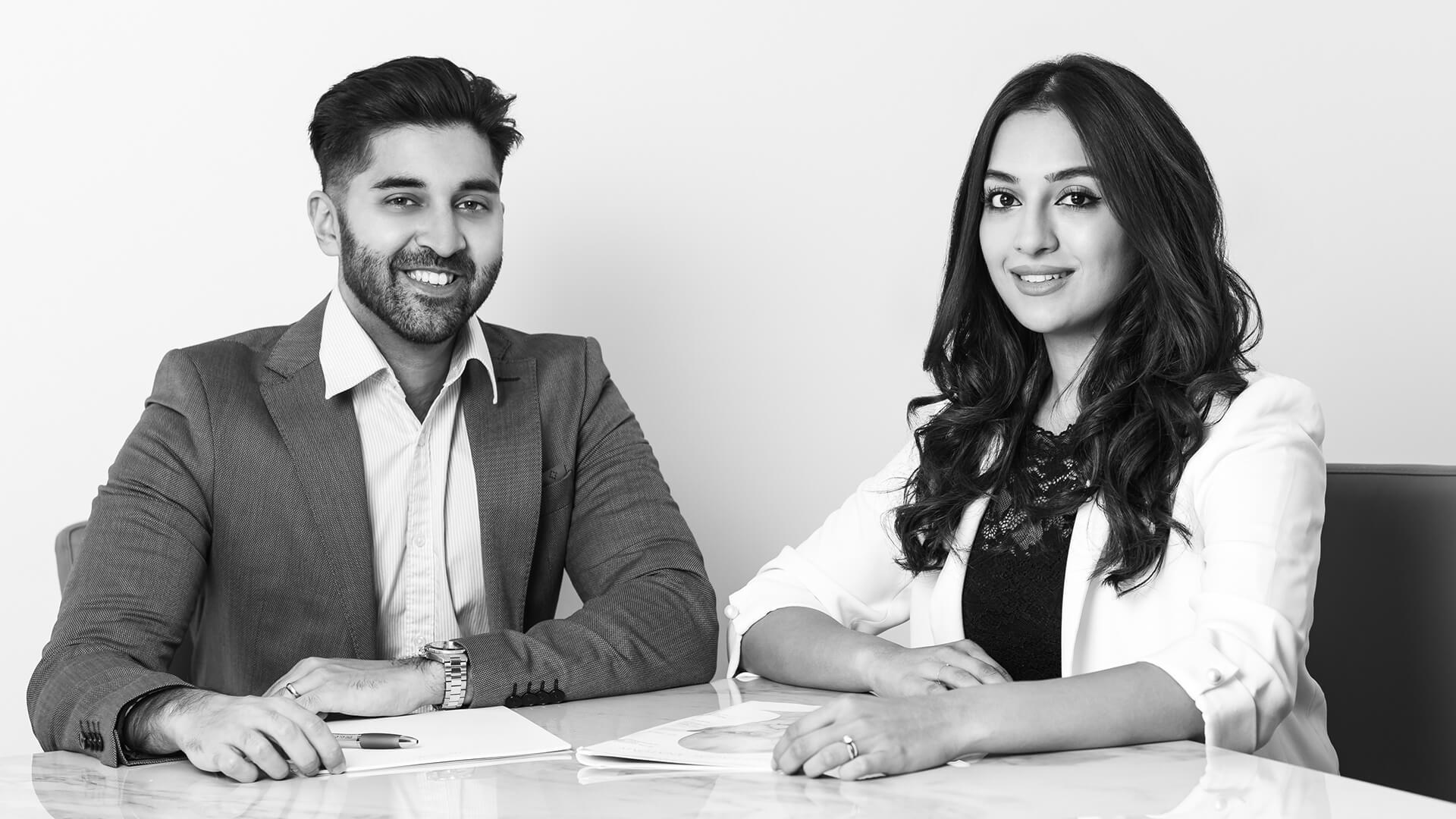 Dr.'s Sanjay Trikha and Tammy Swaby