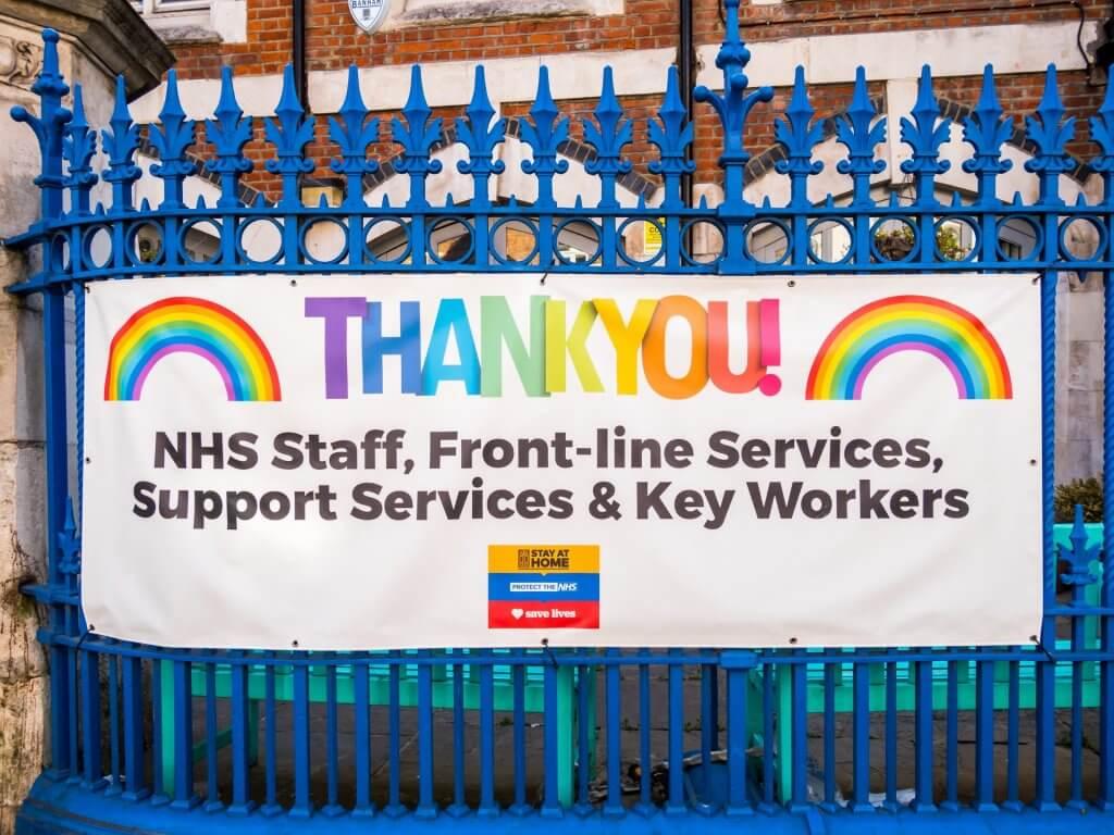 key workers, NHS, frontline workers 2020 pandemic