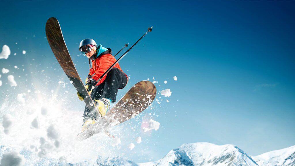 Snow sports - skiing