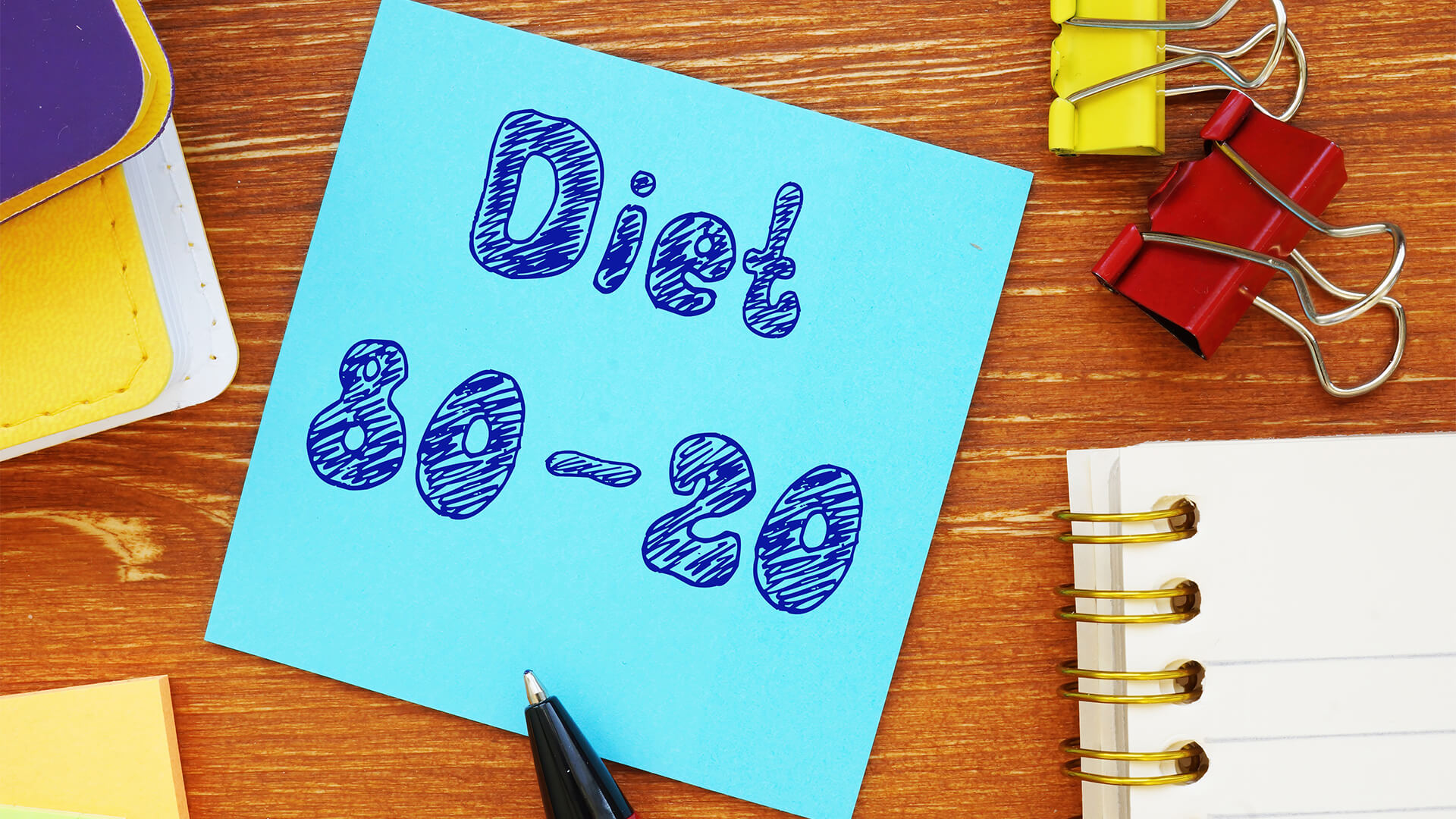 Using the 80/20 Diet for Mental Clarity
